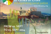 HDCA 2014 Annual Conference 2-5 September 2014 Athens, Greece